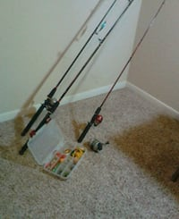 Rods reels and assorted baits Ladson, 29456
