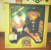 LIMITED EDITION CABBAGE PATCH DOLLS (TWINS)  1392 mi
