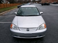 2003 Honda Civic LX 4AT Side SRS Silver Spring