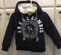 Genuine Abercrombie  & Fitch toddlers sweater size small $10 Coquitlam, V3K 1P4