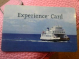 $50 experience card