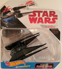 Hot Wheels Star Wars Star Ships Kylo Ren's Tie Silencer