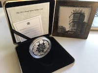 2001 Canada Mint 90th Anniversary Proof Sterling Silver Dollar Calgary, T2R 0S8