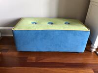 Bench - blue and green brand new