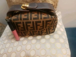 Small Fendi hand bag or use for cosmetics