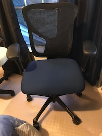 Office chair - blue and black - great condition Gaithersburg, 20878