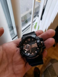 G-shock watch with crown dial.  Toronto, M4A 1M9