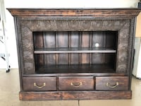Brown wooden cabinet with shelf, TV stand, or Book shelf Scottsdale, 85258