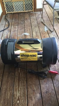 air cleaner , made by shop vac never used