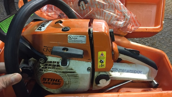 Stihl Ms 260 Pro Chainsaw With Case