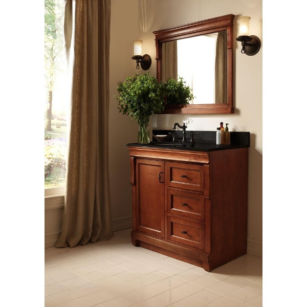 Foremost Naples 30 In W X 21 63 D Vanity Cabinet Only Warm Cinnamon With Right Hand Drawers Usado En Venta Richardson Letgo
