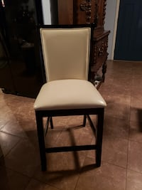 2 Bar height chairs