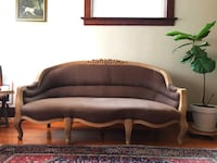 Anthropologie Sofa Sable and raw wood Seattle, 98144
