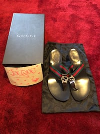 Gucci GG logo thong kitten heels Valley Stream, 11581