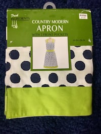 NEW! Apron Rossville, 30741