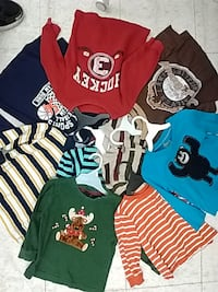 Long Sleeve T-Shirts and Shirts for Toddler boys Toronto
