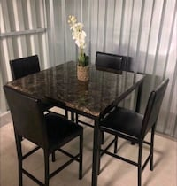 BRAND NEW Beautiful Counter Height Dining Table &  El Paso