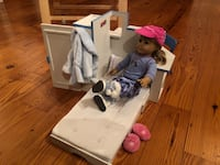 American Girl Doll Mias room with doll and several outfits boots slippers excellent condition not a scratch  Cohasset, 02025
