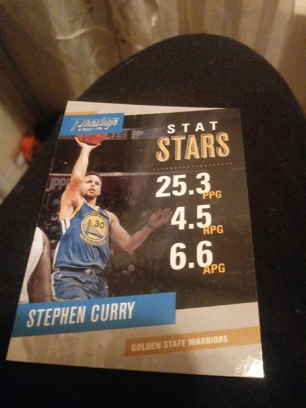 Stephen Curry NBA card