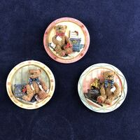 Set of 3 Miniture Plaques 4""