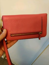 Fossil leather wallet/wristlet Barrie, L4M 5B8