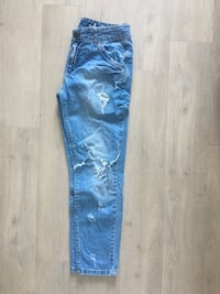 Denim-Denim aus Jeans in Jeans-Optik