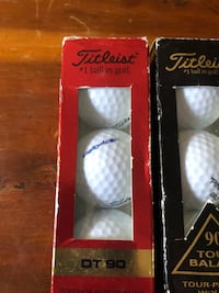 Titleist 90 Tour Balata & DT 90 Golf Balls