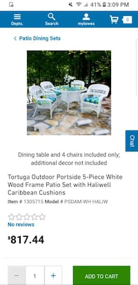 Plastic wicker patio set Nashville, 37206