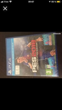 Pes 2018 PS4 neuf sous blister Trappes, 78190