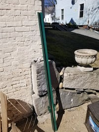 Metal fencing post x 7, they sell for 10 each new! Leominster