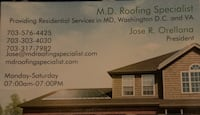 Roof repair Springfield, 22150