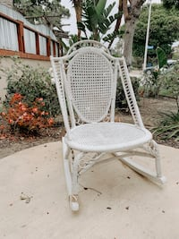 Vintage Wicker Rocking Chair Ventura, 93001