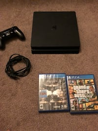 Ps4 with 2k19 GTA5 and Batman  Allentown, 18102