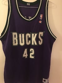 Vin Baker Throwback Bucks Jersey Rockville, 20852