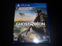 Ghost Recon Wildlands PS4 game