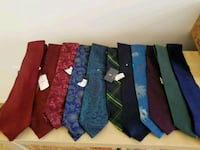 Men's Assorted Designer Ties NEW WITH TAGS Plantation, 33325