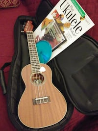 Soprano ukulele with how to book and cd 48350