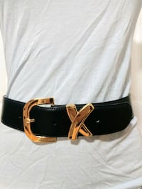 "Paloma Picasso leather belt 25"" ti 29.5"" Burnaby, V5G 1V6"