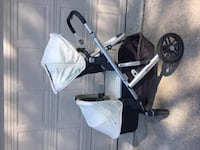 2015 Uppababy Vista stroller with accessories, in excellent condition Hamilton, L8K 4G7