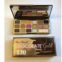 Too Faced Chocolate Gold makeup palette with box Citrus Heights, 95621