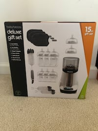 Baby Brezza deluxe bottle warmer gift set