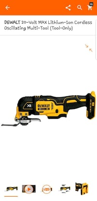 Multitool dewalt new Hyattsville, 20783