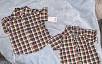 Plaid shirt for boys