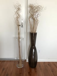 Tall decorative vases