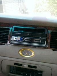 black 1-DIN car stereo Forest Hill, 76119
