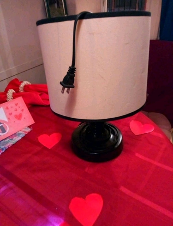 Used White And Black Table Lamp For Sale In Cocoa Letgo