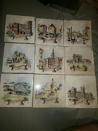 Villeroy & Boch Hand Painted Tiles Tidioute, 16351