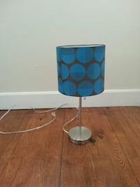 blue and white table lamp 263 mi