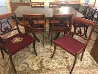Drexel dining table set Vienna, 22180