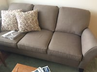 gray fabric 2-seat sofa Daleville, 24083